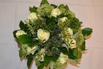 Ruiker witte rozen