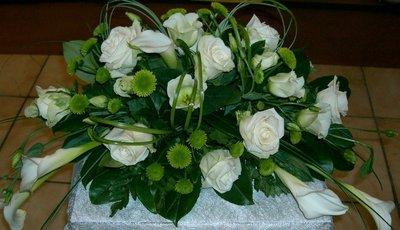 Rouwstuk/bloemstuk D1