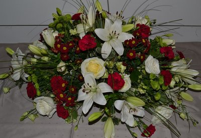 Rouwstuk/bloemstuk D4