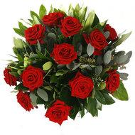 Valentijn:-ruiker-rode-rozen